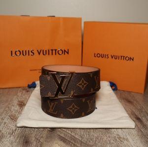 Louis Vuitton Monogram Belt 90/36